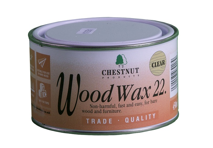 Chestnut Wood Wax 22 Clear 450ml Woodcare And Finishes