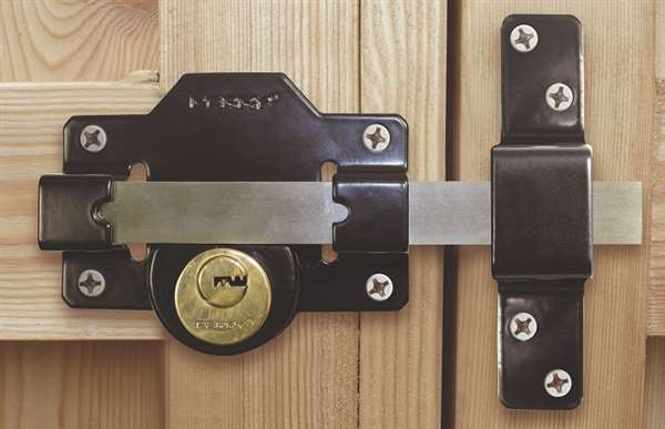 Perry Long Throw Gate Lock Double 70mm Cylinder Gate